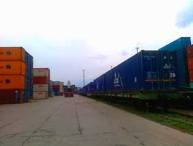 Furniture shipping by rail