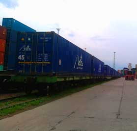 Shipping by rail