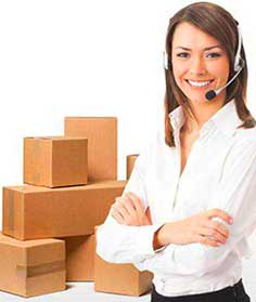 International moving customer services